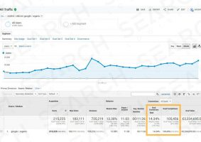 Convert search traffic into sales and leads